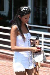 Cindy Kimberly at Fred Segal in West Hollywood 07/30/2018