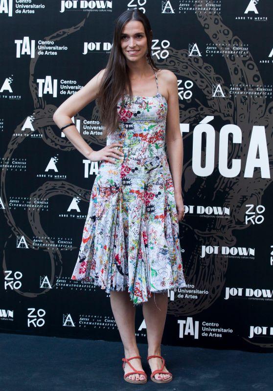 "Clara Mendez Leite – ""Tocate"" Premiere in Madrid"