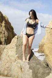 Claudia Alende in Bikini on the Beach in LA 07/20/2018