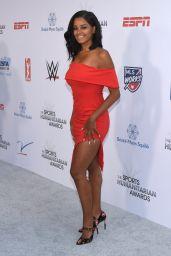 Claudia Jordan - 2018 Sports Humanitarian Awards in LA