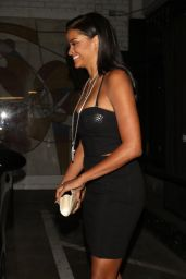 Claudia Jordan Night Out Style - Warwick Nightclub in Hollywood 07/04/2018