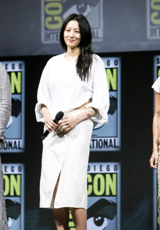 Claudia Kim - Warner Bros. Presentation at 2018 SDCC