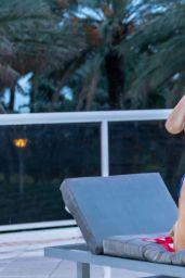 Claudia Romani and Anais Zanotti - Celebrate 4th of July on South Beach in Miami