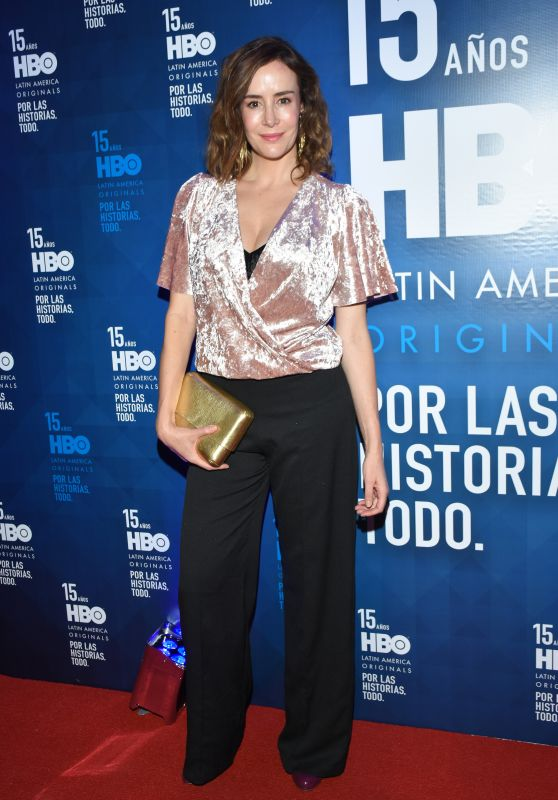 Cristina Campuzano – 2018 HBO Latin America in Mexico City