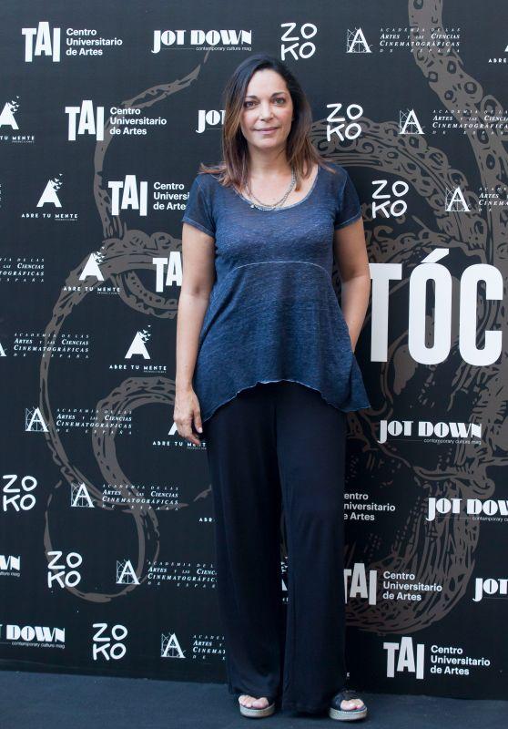 """Cristina Plazas – """"Tocate"""" Premiere in Madrid"""