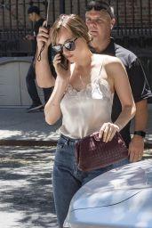 Dakota Johnson Arriving Back at Her Hotel in NYC  07/19/2018
