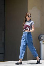 Dakota Johnson Casual Style - Leaving Thibiant in Beverly Hills