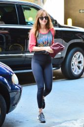 Dakota Johnson - Headed Out For a Quick Workout in NY 07/16/2018