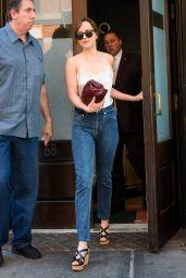 Dakota Johnson in Jeans - Out in NY 07/19/2018