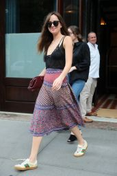 Dakota Johnson - Leaves the Greenwich Hotel in NY 07/16/2018