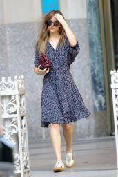 Dakota Johnson Leaving an Office Building in NYC 07/20/2018