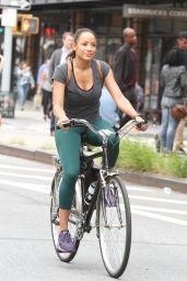 "Dania Ramirez - ""Tell Me a Story"" Set in New York 07/22/2018"