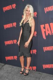 "Danielle Harold – ""Fanged Up"" Premiere in London"