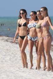Danielle Knudson - Celebrates Her 29th Birthday in Miami Beach