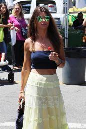 Danielle Vasinova Licking a Lollipop - Out in LA 07/15/2018