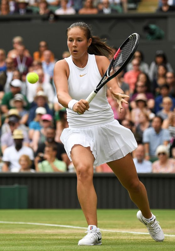 Daria Kasatkina – Wimbledon Tennis Championships in London, Day 8