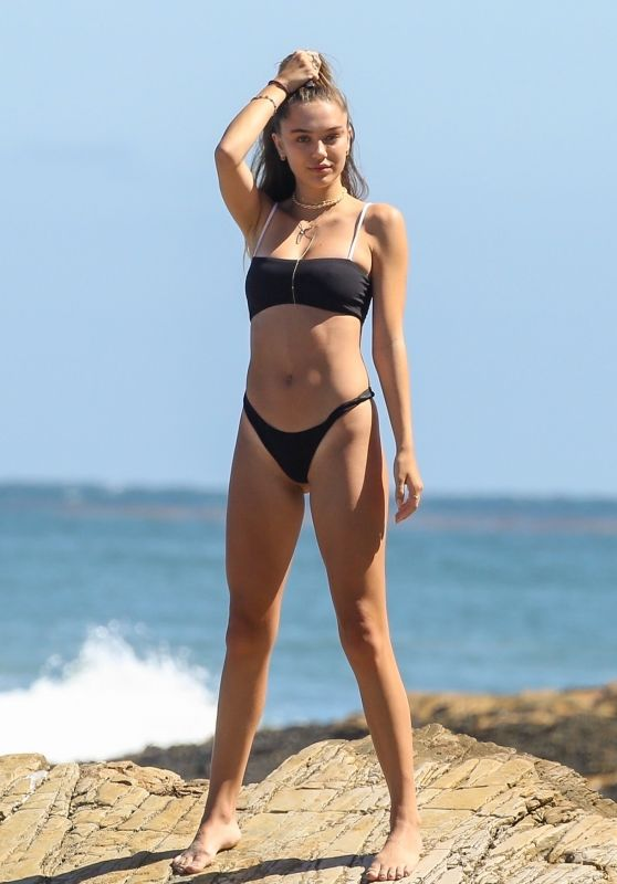 Delilah Belle Hamlin in Bikini - Photoshoot in Malibu 07/15/2018