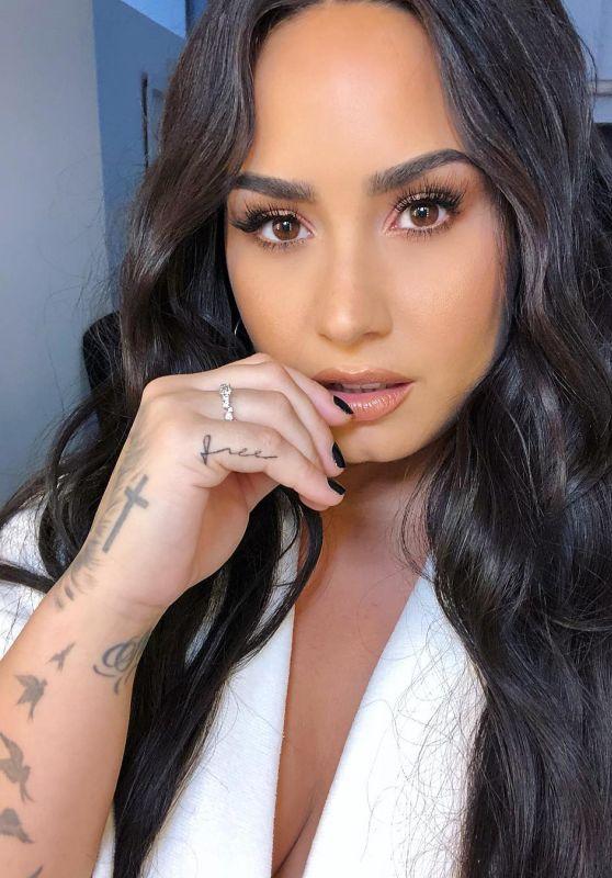 Demi Lovato - Social Media 07/10/2018