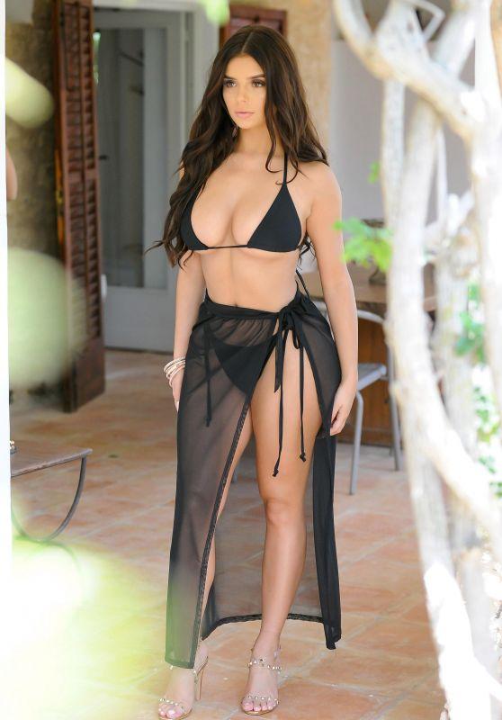 Demi Rose in Bikini and High Heels - Photoshoot in Ibiza 06/04/2018