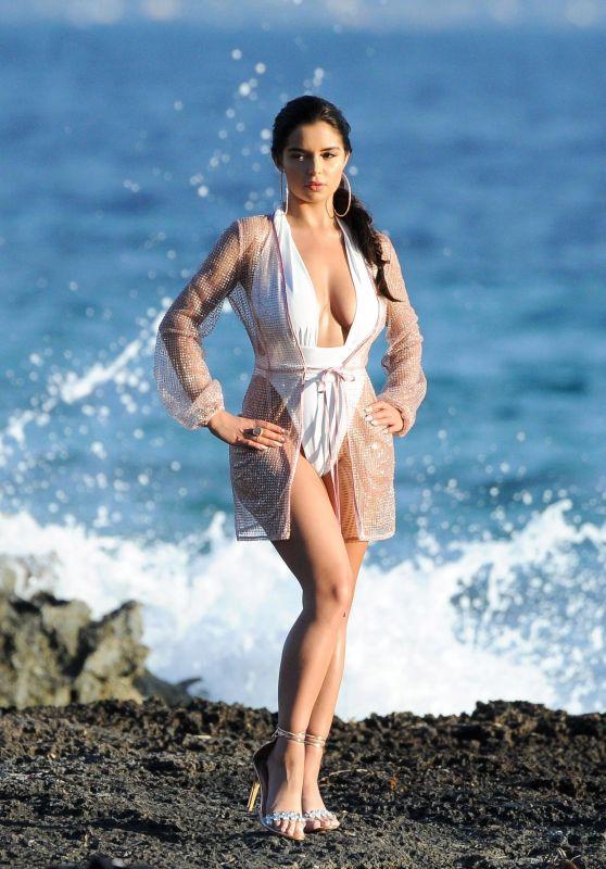 Demi Rose in Swimsuit - Photoshoot in Ibiza 06/18/2018