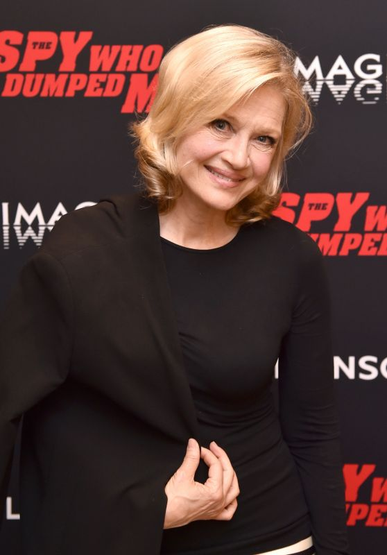 "Diane Sawyer – ""The Spy Who Dumped Me"" Screening in New York"