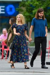 Dianna Agron and Winston Marshall Out in NYC 07/22/2018