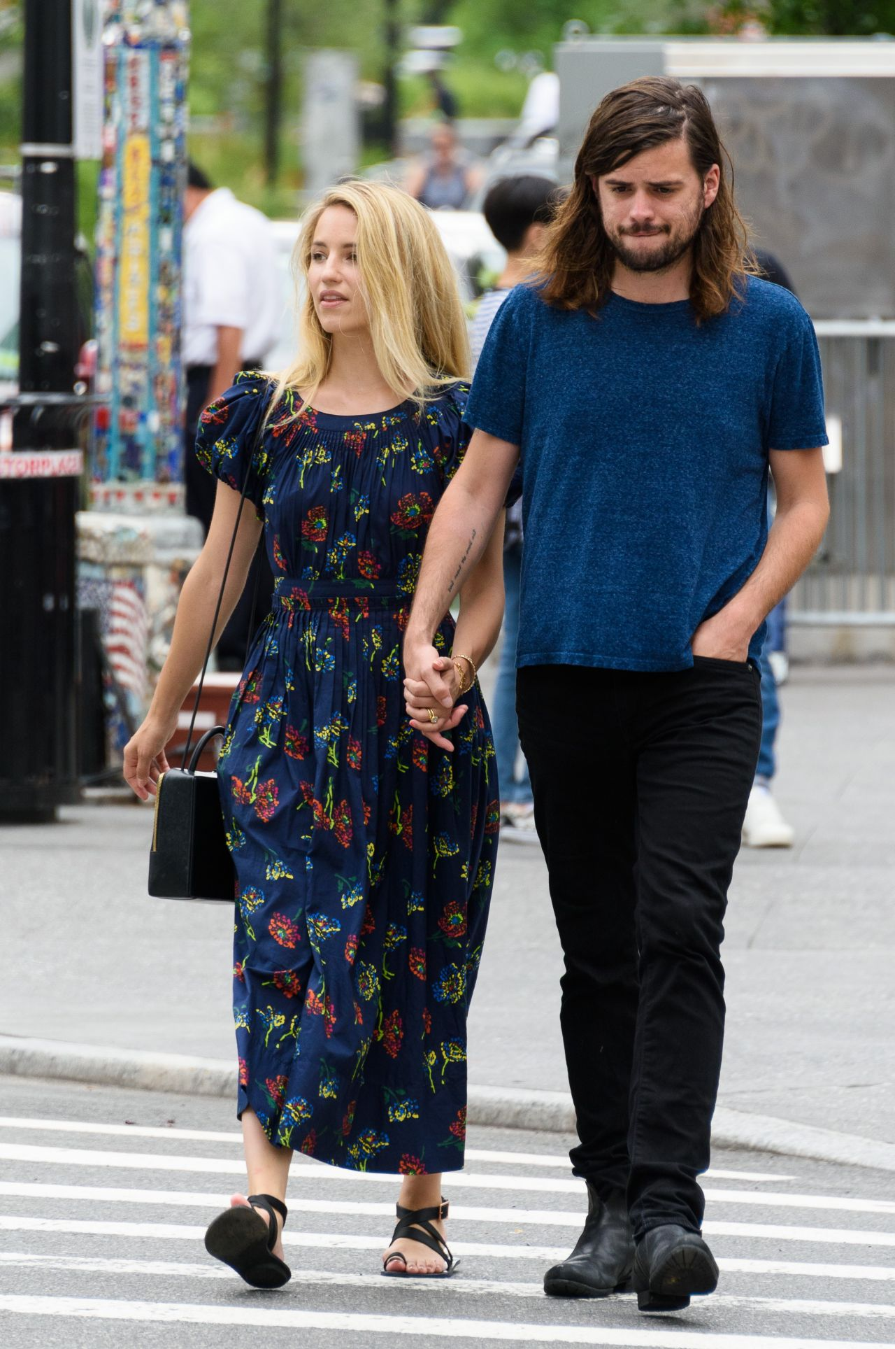 Dianna Agron and Winston Marshall Out in NYC 07/22/2018 ...