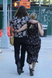 Dianna Agron Holding Hands With Her Husband Winston Marshall - Out in NYC