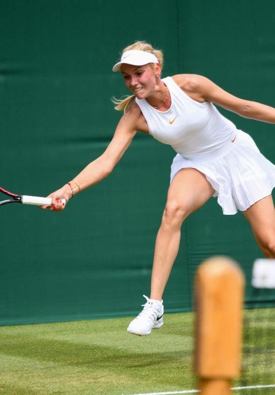 Donna Vekic – Wimbledon Tennis Championships in London 07/04/2018