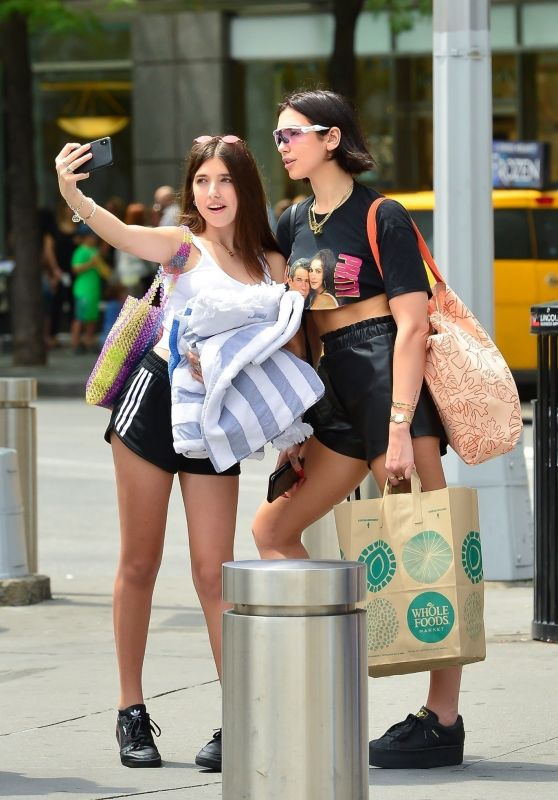 Dua Lipa and Rina Lipa - Out in NYC 07/29/2018