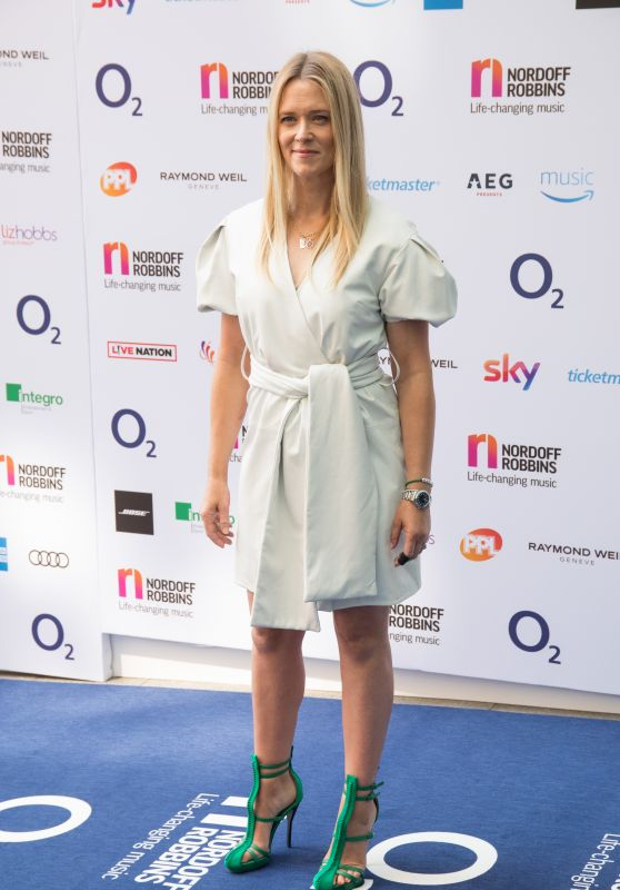 Edith Bowman - O2 Silver Clef Awards 2018 in London