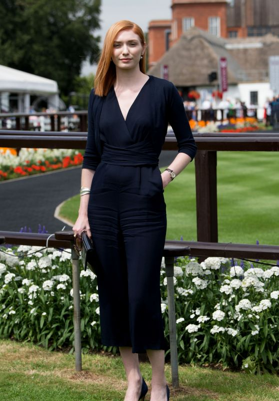 Eleanor Tomlinson - The Moet & Chandon July Festival Ladies Day in Newmarket Racecourse