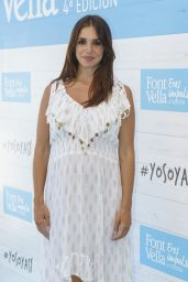 Elena Furiase - Launch of the Yo Soy Asi Campaign by Font Vella in Madrid