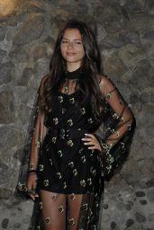 Eleonora Gaggero - Ischia Global Festival Gala Dinner in Ischia 07/16/2018