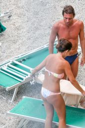 Elisabetta Muscarello Bikini Candids -Bergeggi, Italy 07/20/2018