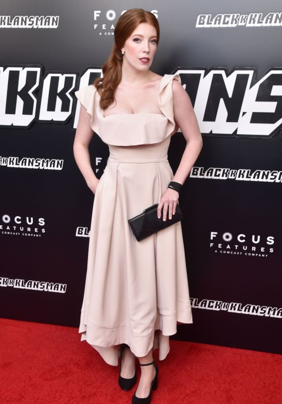 "Elise Hudson – ""BlacKkKlansman"" Premiere in New York"