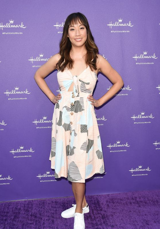 Elizabeth Ho – Hallmark's Put It Into Words Campaign Launch Party in LA