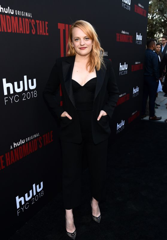 "Elizabeth Moss – ""The Handmaid's Tale"" TV Show Finale in LA"