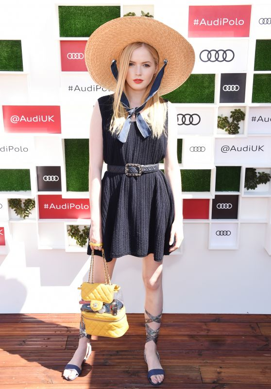 Ellie Bamber - Audi Polo Challenge in Ascot 06/30/2018