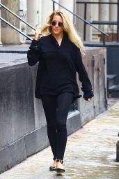 Ellie Goulding Casual Style - Leaving a Studio in London 07/28/2018