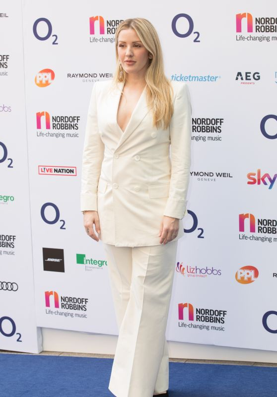 Ellie Goulding - O2 Silver Clef Awards 2018 in London