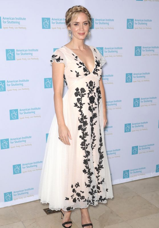 Emily Blunt - Freeing Voices Changing Lives Benefit Gala in New York