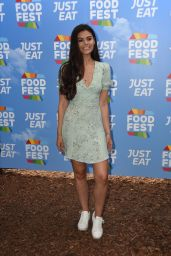 Emily Canham - Just Eat Food Fest in London 07/19/2018
