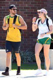 Emily Seebohm and Mitch Larkin -Cairns, Queensland 07/26/2018