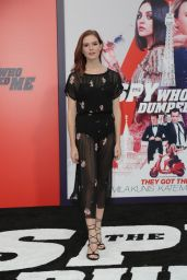 "Emily Tyra – ""The Spy Who Dumped Me"" Premiere in LA"