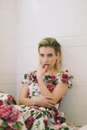 Emma Roberts - The Laterals Magazine Issue 01, 2018