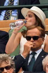 Emma Watson - Championships at Wimbledon in London 07/14/2018