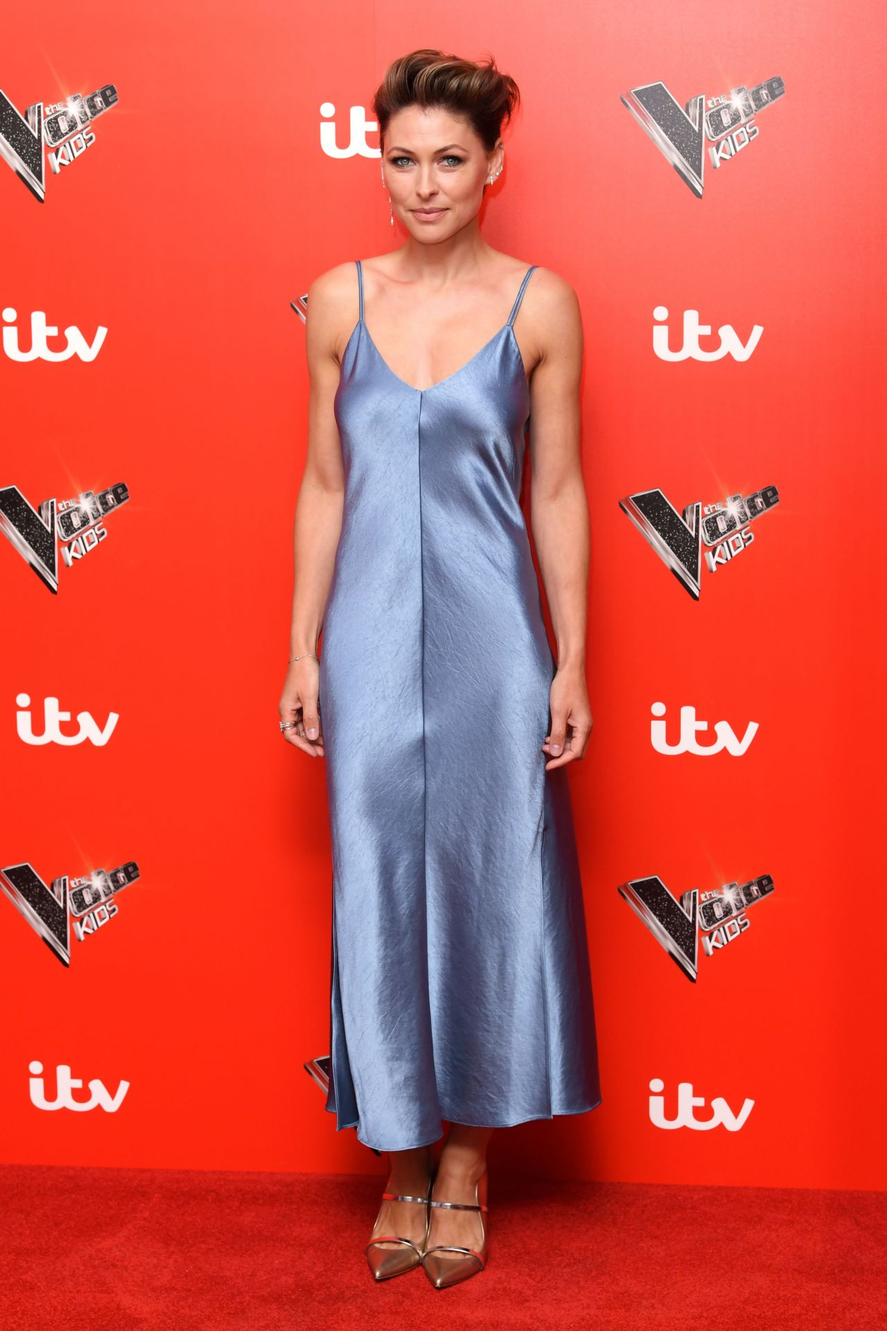 Emma Willis The Voice Kids Photocall In London 07 12 2018