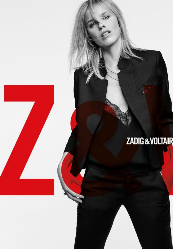 Eva Herzigova - Photoshoot for Zadiget Voltaire July 2018