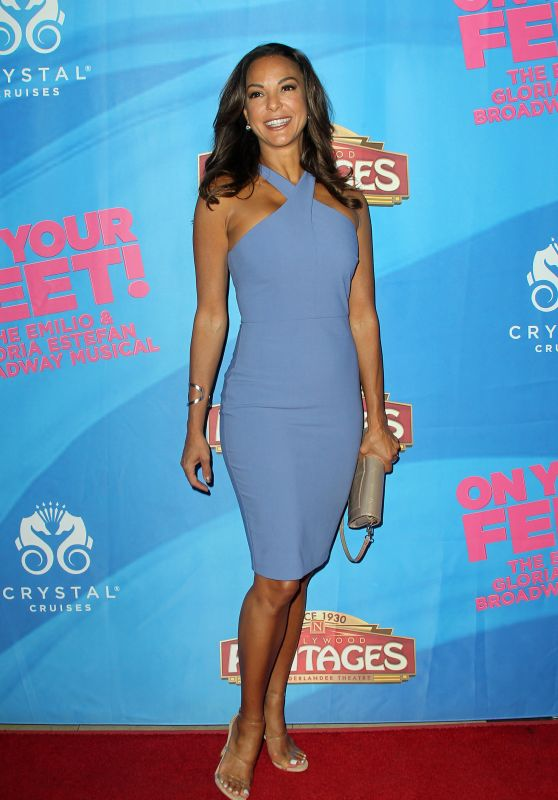 "Eva LaRue – ""On Your Feet The Story of Emilio & Gloria Estefan"" Premiere in Hollywood"